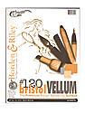 #120 Bristol Pad 9 in. x 12 in. vellum finish