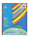 Array Card Stock assorted 8 1/2 in. x 11 in. pack of 100
