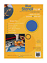 Stencil Film blue 9 in. x 12 in. pack of 4