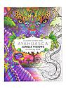 Ayahuasca Jungle Visions Coloring Book each