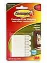 Command Picture Hanging Strips white small pack of 4 sets