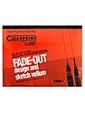 Fade-Out Design and Sketch Vellum - Grid Pad 10 x 10 17 in. x 22 in. pad of 50
