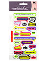 Classic Stickers assorted captions 25 pieces