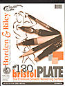 #120 Bristol Pad 9 in. x 12 in. plate finish