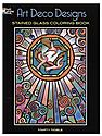 Art Deco Designs Stained Glass Coloring Book Art Deco Designs Stained Glass Coloring Book