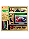 Wooden Stamp Sets dinosaurs