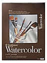 400 Series Watercolor Pad 18 in. x 24 in. spiral pad of 12
