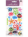 Classic Stickers tropical fish 31 pieces