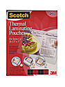 Thermal Laminating Pouches 3 11/16 x 2 3/8 in. (business/ID cards)