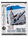 #51H Parchment Tracing Paper 19 in. x 24 in. pad of 50