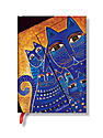 Laurel Burch Journals Mediterranean Cats Midi 160 pages, lined