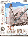 #51H Parchment Tracing Paper 9 in. x 12 in. pad of 50