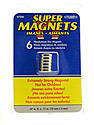 Super Magnets 12 mm (Dia) x 3 mm pack of 6