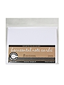 Packaged Cards and Envelopes horizontal note cards with envelopes white 5 1/2 in. x 4 in. pack of 8