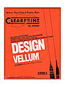Design Vellum Pad no. 1000HP 8 1/2 in. x 11 in. pad of 50