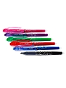 FriXion Point Erasable Gel Pens black, blue, red, green, pink, purple set of 6 0.5 mm