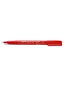 Extra Fine Point Permanent Marker red