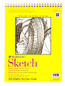 300 Series Sketch Pads 11 in. x 14 in. wire bound 100 sheets