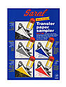 Transfer (Tracing) Paper transfer paper sampler pack of 5 sheets 8 1/2 in. x 11 in. pack of 5