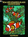 Sea Life Stained Glass Coloring Book Sea Life Stained Glass Coloring Book