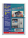 Magnetic Photo Pockets 2 1/2 in. x 3 1/2 in. pack of 3