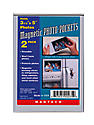 Magnetic Photo Pockets 3 1/2 in. x 5 in. pack of 2