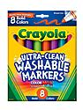 Bold Colors Ultra-Clean Washable Markers broad box of 8