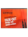 Fade-Out Design and Sketch Vellum - Grid Pad 8 x 8 17 in. x 22 in. pad of 50
