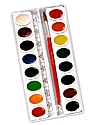 Watercolor Sets oval standard set of 16