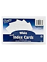 Index Cards white, ruled 5 in. x 8 in. pack of 100